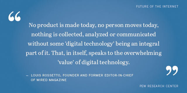 shareable quotes from experts about the impact of digital life