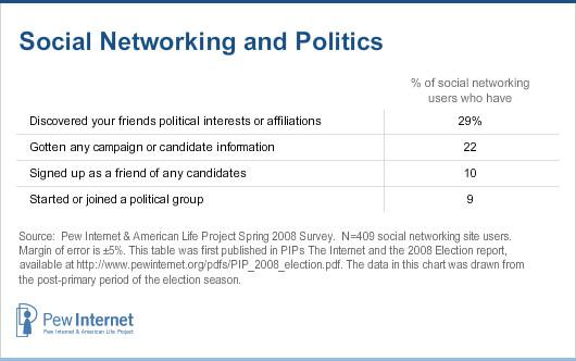 SNS and politics