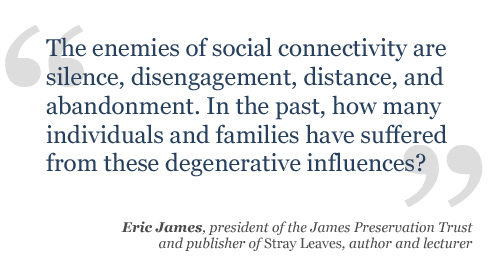 Fifty years ago emigrants left their family and friends behind. Now people who move from one country to another simply enlarge their social networks, building truly global communities.