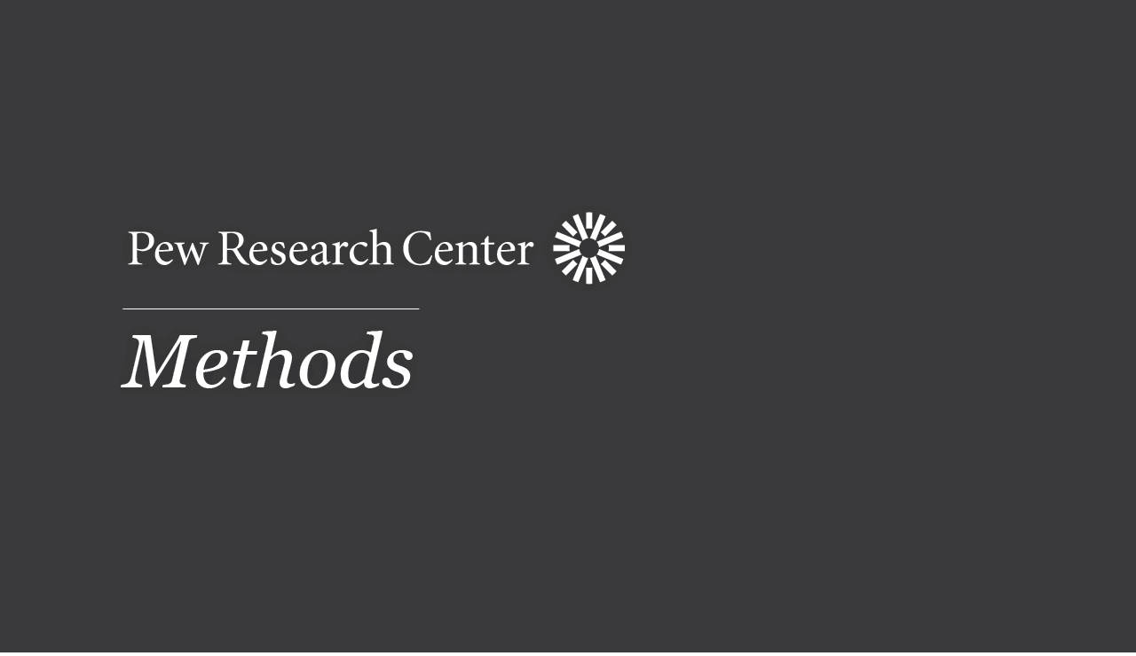 pew research center methods methods