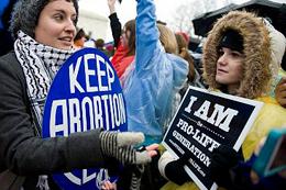 Pro-Life and Pro-Roe vs. Wade Activists