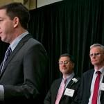 Glenn Greenwald accepts award