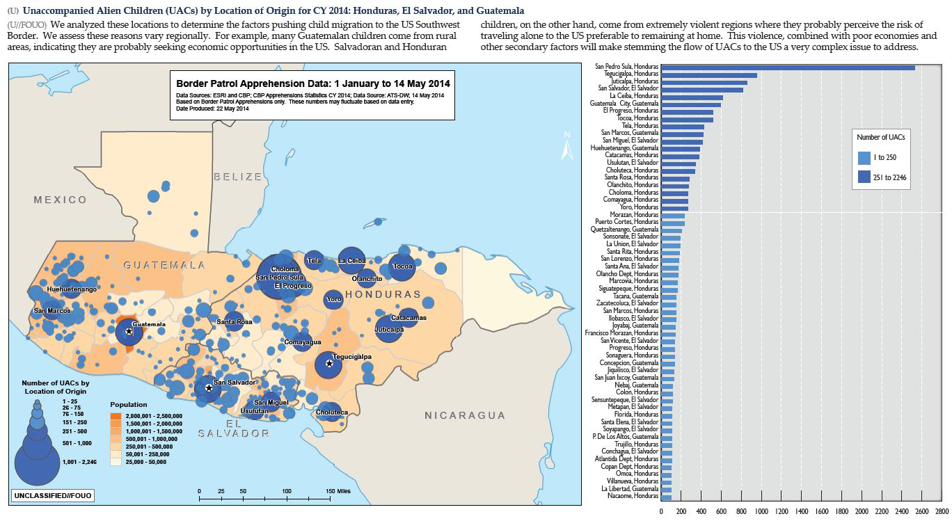 Dhs Violence Poverty Drive Children To Flee Central America To - Poverty-in-the-us-map