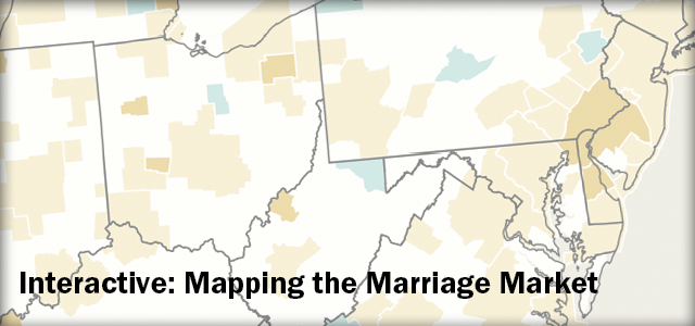 Mapping the Marriage Market