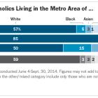 Race and Ethnicity of Catholics in New York City, Philadelphia and Washington