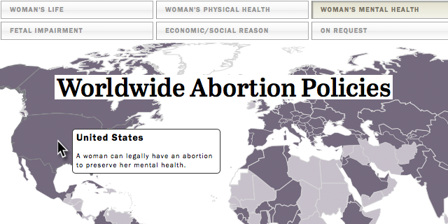 Abortion Rates By State Map.Worldwide Abortion Policies Pew Research Center