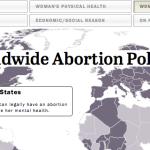 Worldwide Abortion Policies