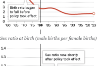 Legacy of One-Child Policy Is Likely More Male Births, Not Fewer Births