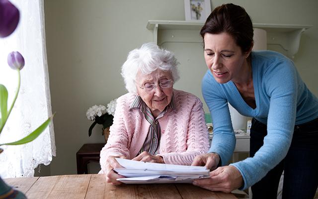 caretakers Adult stress parent