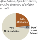 A quarter of U.S. Hispanics identify as Afro-Latino