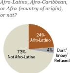 A quarter of U.S. Hispanics identify as Afro-Latino