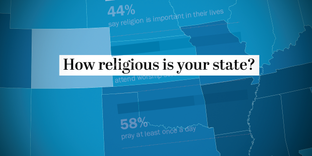 How religious is your state?