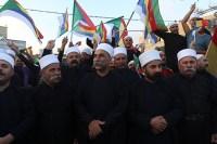 Israeli Druze demonstration