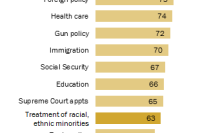 63% say treatment of minorities is very important to their vote for president