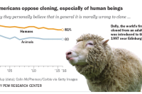 Most Americans oppose cloning, especially of human beings