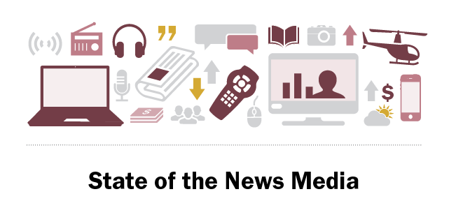state of the news media 2019