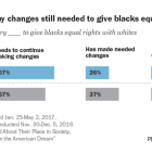 Most Muslims say changes still needed to give blacks equal rights