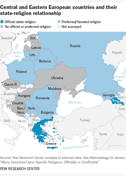 Religion A Part Of National Identity In Central Eastern Europe