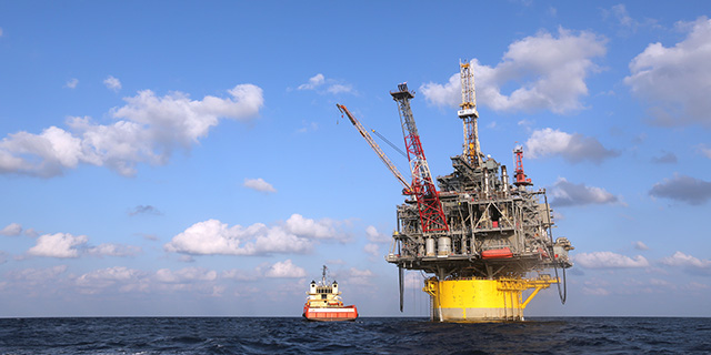 Shell's Perdido offshore drilling and production platform in the Gulf of Mexico southwest of Houston. (Gary Tramontina/Corbis via Getty Images)