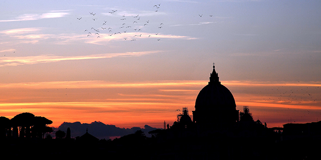 Vatican Basilica, Rome. (Alberto Pizzoli/AFP/Getty Images)