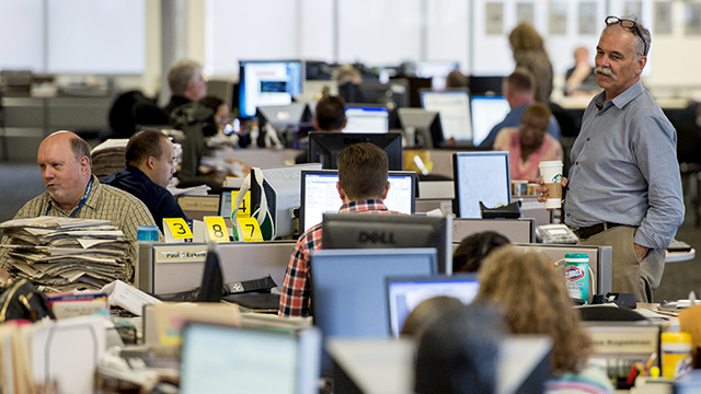 Newsroom employees are less diverse than U.S. workers ...