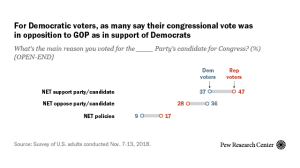 Voices: What's the main reason you voted for ___ Party's