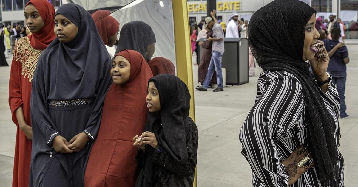 Muslim women dating christian man