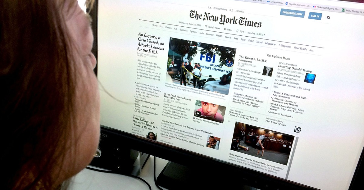 Key findings about the online news landscape in America