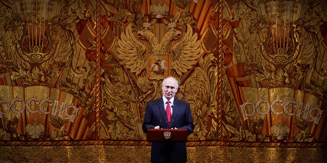 Russia and Putin receive low ratings globally