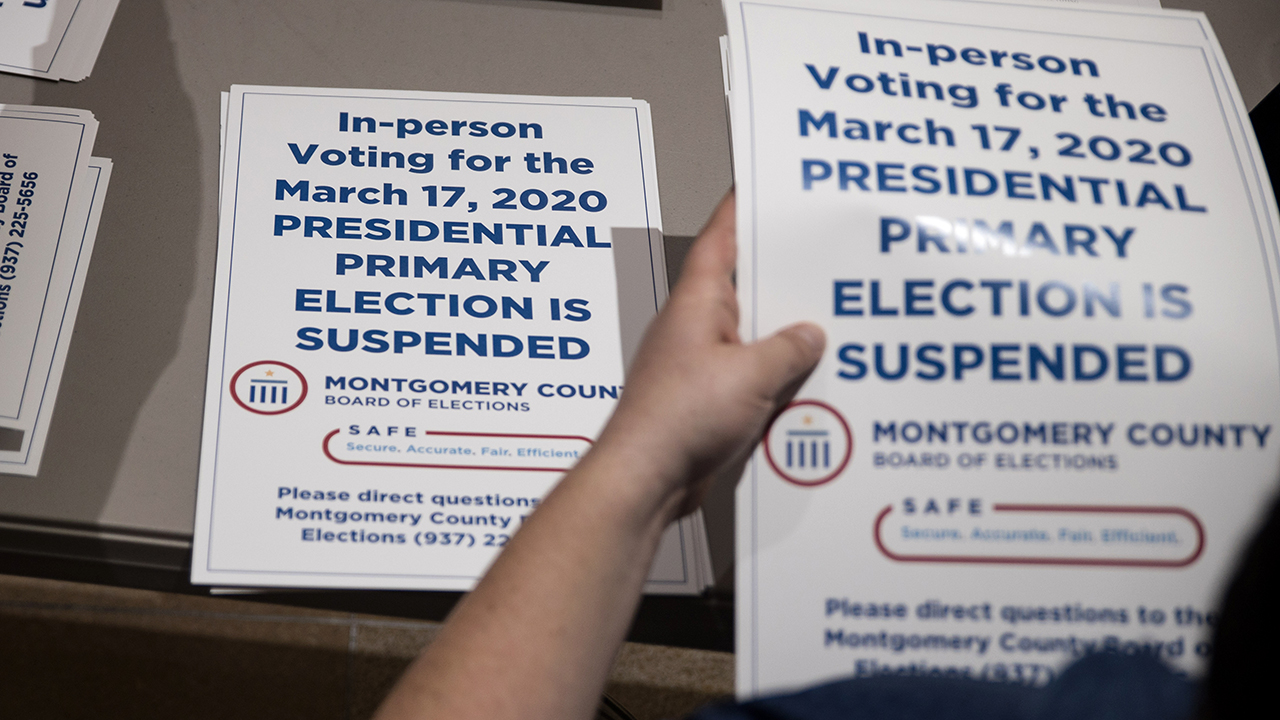 Most voters say postponing presidential primaries amid coronavirus outbreak has been necessary