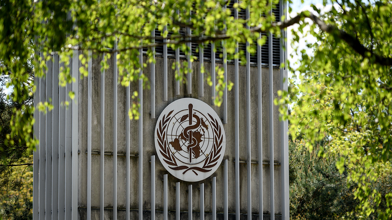 The World Health Organization headquarters in Geneva. (Fabrice Coffrini/AFP via Getty Images)