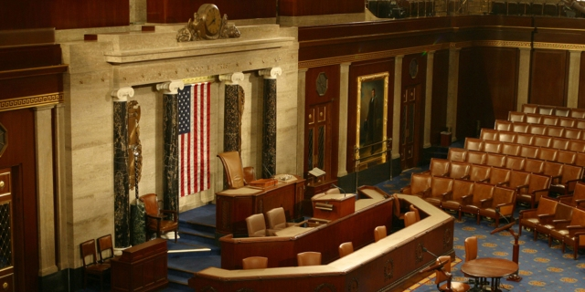 The House of Representatives. (National Archives)