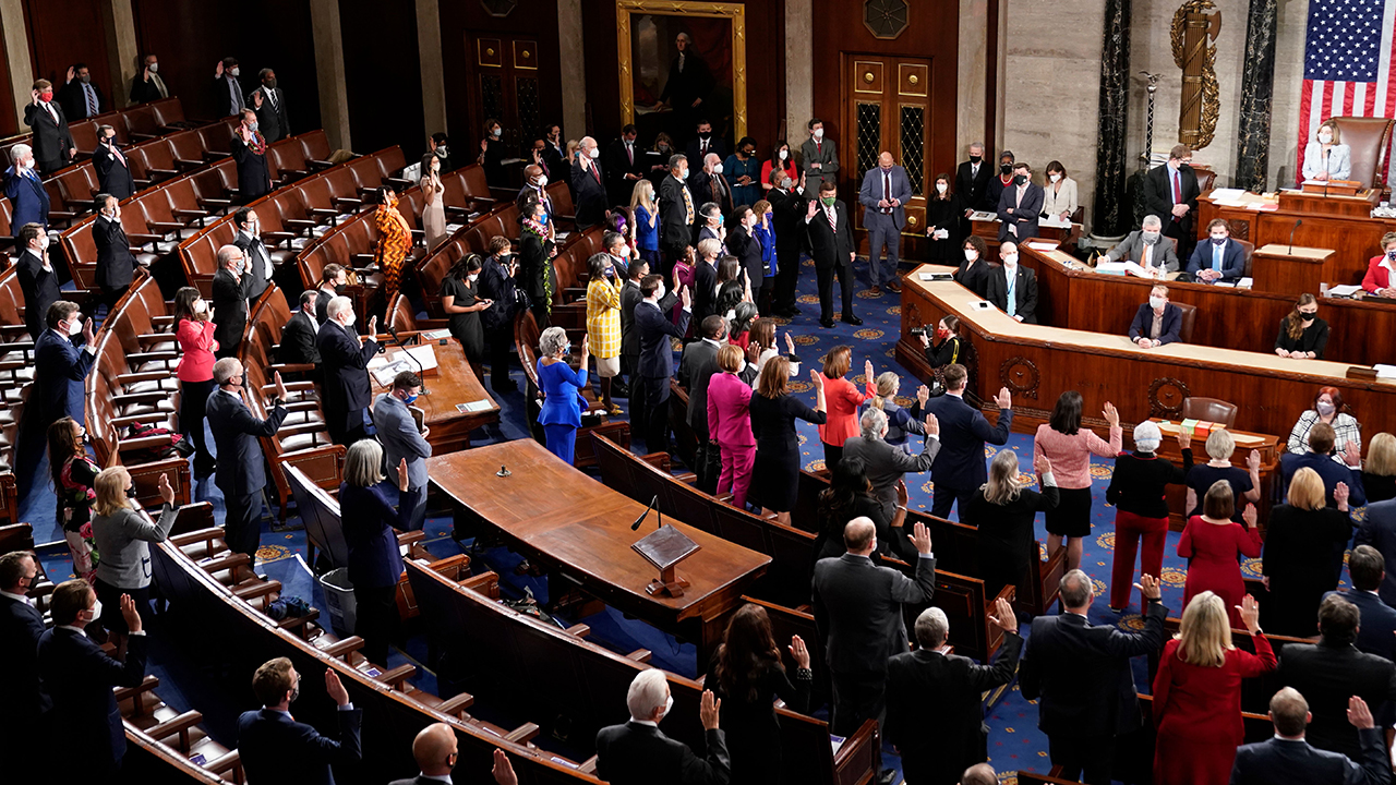 A record number of women are serving in the 117th Congress | Pew Research  Center