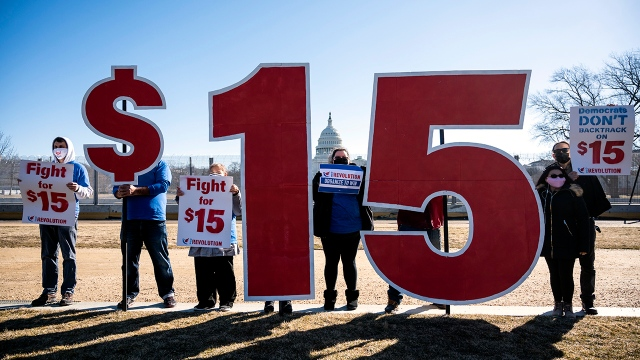 Most Americans support a $15 federal minimum wage