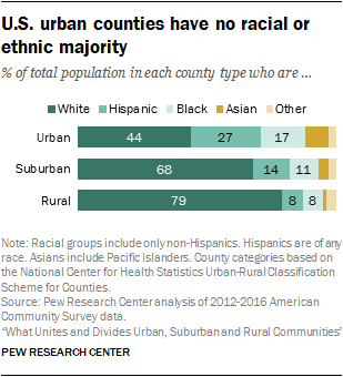Demographic And Economic Trends In Urban Suburban And Rural Communities