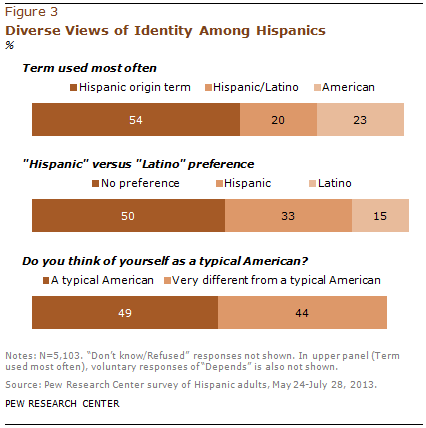 Diverse Views of Identity Among Hispanics